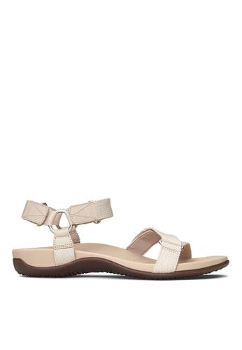 Vionic beige Candace Sandal A8D5BSH8B7E8E3GS_1