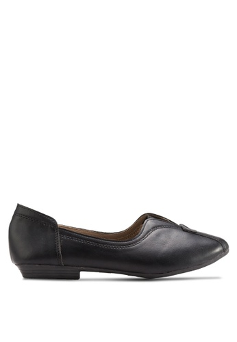 Louis Cuppers black Casual Flats LO977SH30BDXMY_1