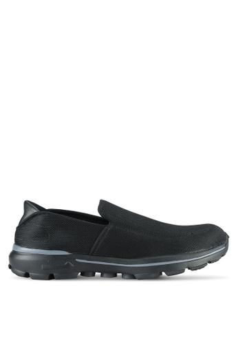 UniqTee black Lighweight Slip-On Sporty Sneakers UN097SH0RS4JMY_1