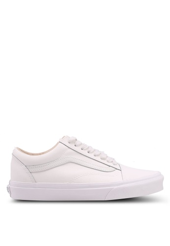 VANS white Old Skool Vansbuck Sneakers 70507SH948E99FGS_1