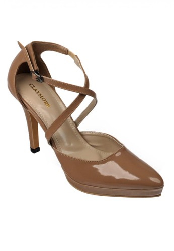 CLAYMORE brown High Heels Claymore MZ-05  Mocca CL635SH69OMWID_1