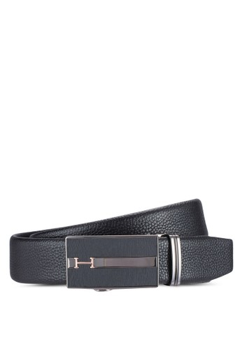Smootzalora 包包 ptth Leather Belt With Automatic Buckle, 飾品配件, 飾品配件
