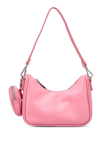 nose pink Sporty Sling Bag With Pouch 30E66ACDC756D5GS_1