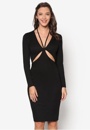 性感鏤空貼身連身裙, 服飾, Dresesprit專櫃s To Impress
