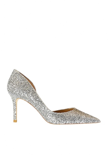 Twenty Eight Shoes silver Unilateral Open Sequins Evening and Bridal Shoes VP88621 422D0SHAB2B07FGS_1