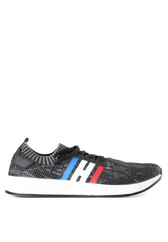 Homypro grey Rapid 01 Sneakers 833D6SH31EA244GS_1