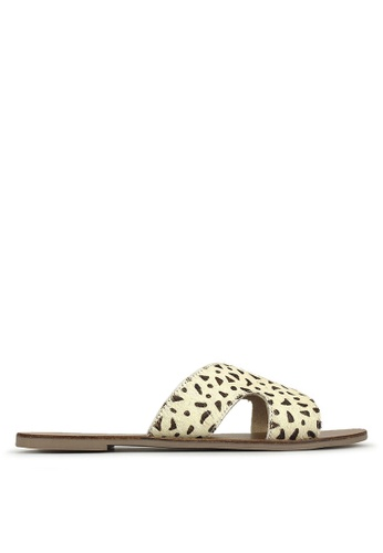 Cut Caprice Caprice Leather Sandals Out CxeWordB