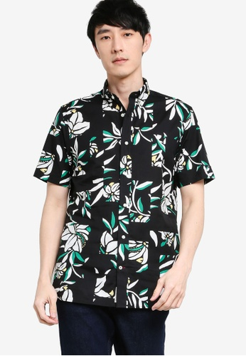 Tommy Hilfiger multi Patchwork Floral Print Shirt AAB67AAEA18CC3GS_1