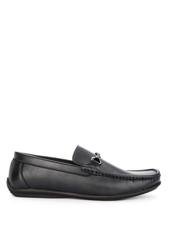 Italianos navy Max Loafers DD5D1SHE420A98GS_1