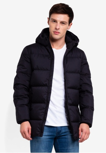 Calvin Klein 黑色 連帽外套 DAD08AA82B2EFCGS_1
