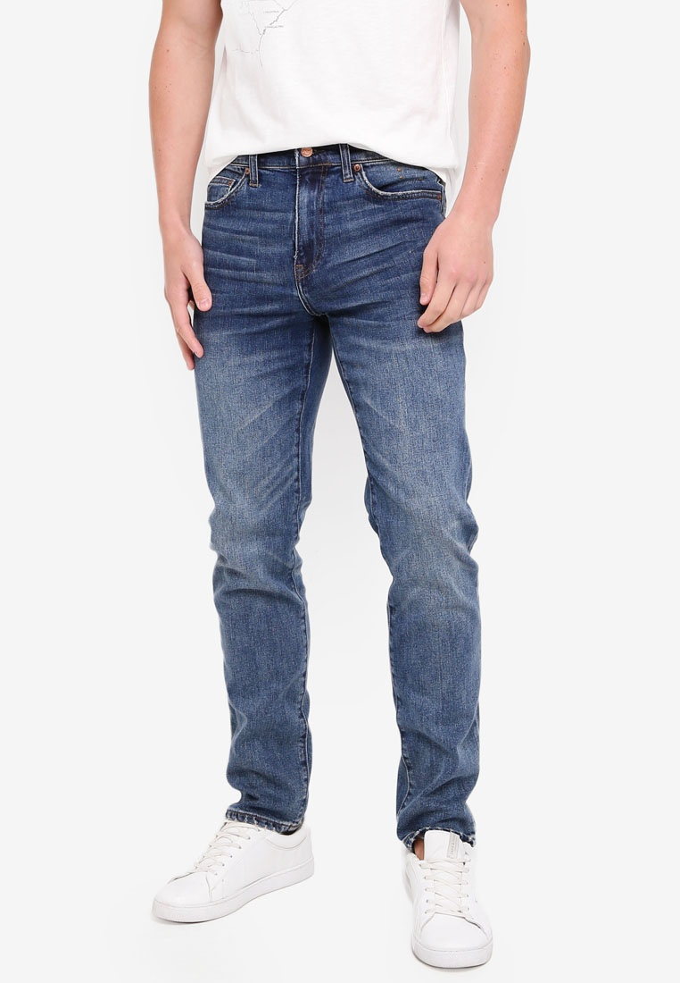 Wash 770 Light Wash Worn J Worn Stretch Light Denim Crew qT6qzRW1
