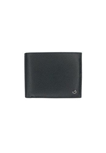 Goldlion black Wallet in Textured Leather GO578AC0GYEKSG_1