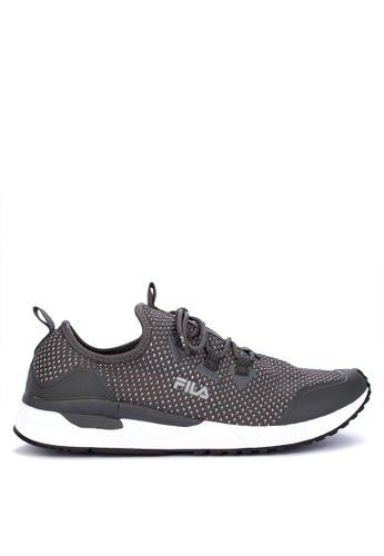 Fila grey Persevere Running Shoes FF82ASH60105B5GS_1