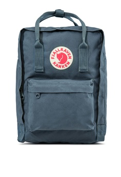 68effdedef9b Fjallraven Kanken grey Graphite Kanken 13  Laptop Backpack