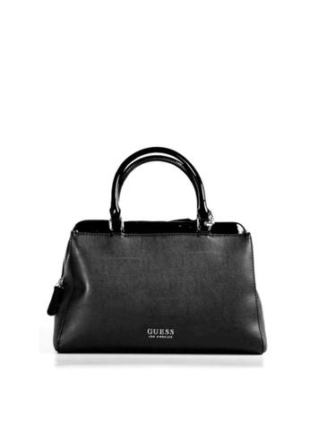 Guess black Guess Darbie Large Satchel Bag 34049AC7BBDF2FGS_1
