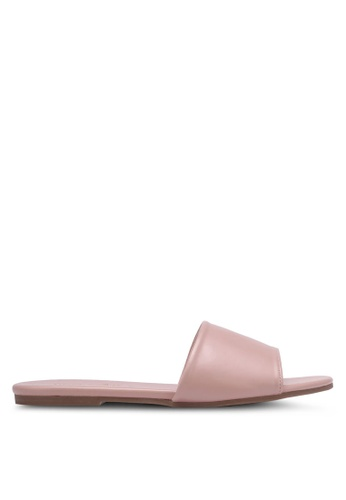 Christy Ng pink Eleanor Nude Sliders CH330SH0RXP6MY_1