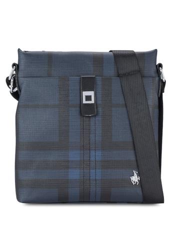 Swiss Polo blue Swiss Polo Messenger Bag SW912AC20XFJMY_1