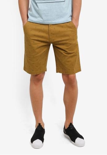 Marc & Giselle 褐色 Bermuda 短褲 MA188AA0RTKMMY_1