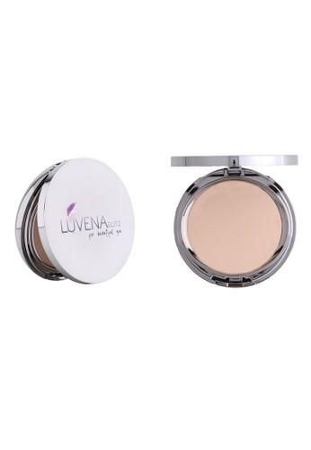 Luvena Glitz Cosmetic silver Luvena Glitz Two Way Cake Natural 29762BE2B0527BGS_1