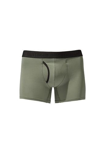 Cotton On green Men's Organic Cotton Trunks D5B80US2C3D230GS_1