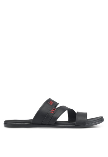 Louis Cuppers black Casual Sandals C4327SH40C4F78GS_1