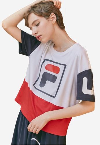 f5e255c26346e Buy Fila ORIGINALE F-box T-shirt Online on ZALORA Singapore
