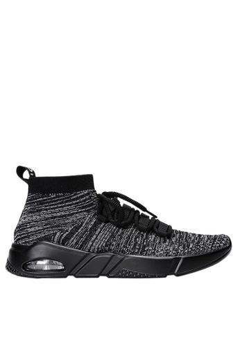Twenty Eight Shoes 灰色 針織襪子運動鞋 VM1806 CC07CSHA1327F0GS_1