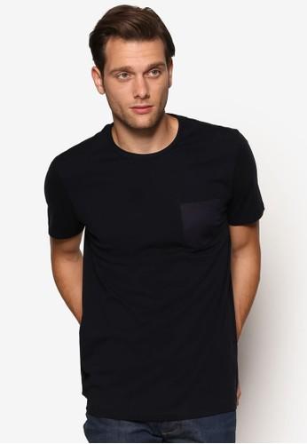 緞感口袋短袖TEE、 服飾、 T恤BurtonMenswearLondon緞感口袋短袖TEE最新折價