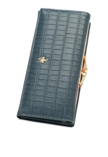 Swiss Polo blue Long Wallet 54660AC8ABBF75GS_1