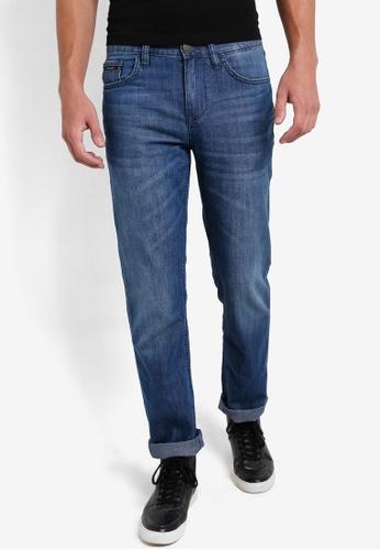 Calvin Klein blue Slim Straight Jeans - Calvin Klein Jeans CA221AA77DFUMY_1