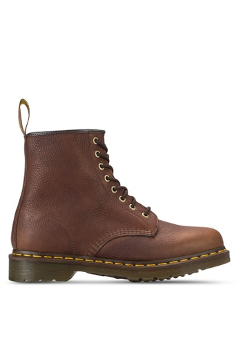 Dr. Martens brown Core Rugged 8-Eye Boots DR086SH68DELMY_1