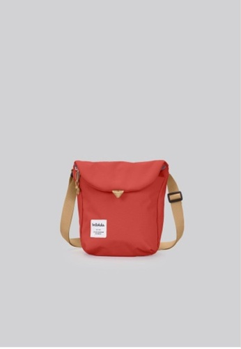 Hellolulu red Hellolulu Desi Sling Bag (Pomegranate) 7D0EAAC5C7886FGS_1