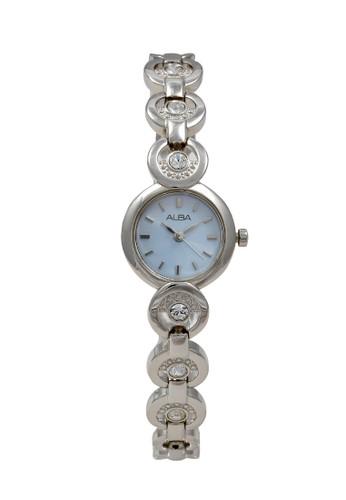 Alba silver ALBA Jam Tangan Wanita - Silver Blue - Stainless Steel - AC3S37 06E4CACA12D363GS_1