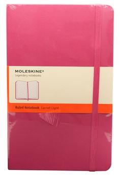 Large Classic Colored Hard Ruled Notebook