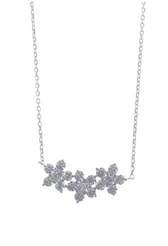Arya Silver Earrings and Necklace