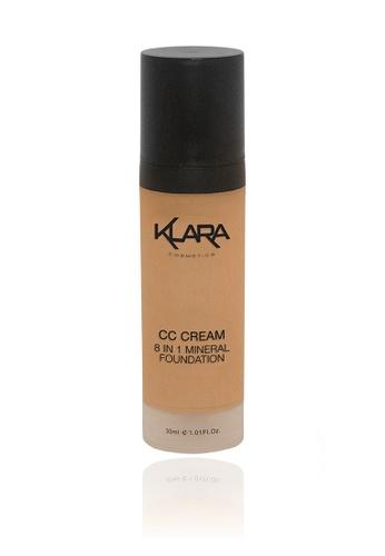 KLARA COSMETICS beige CC Cream 8 In 1 #6 - Dark Sand 98FC3BEDB3D209GS_1