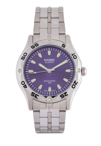 Casio MTP-1243D-2AVD 不銹鋼鍊錶, 錶類,esprit品牌介绍 錶類