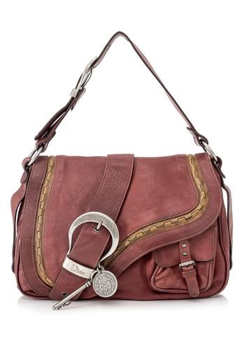 Dior red Pre-Owned Christian Dior Gaucho Shoulder Bag 28017AC8737D88GS_1