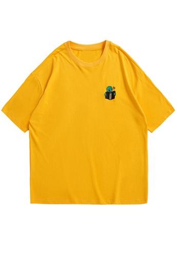 Twenty Eight Shoes Embroidered Casual Short T-shirt 5136S21 79E21AA5D0A9E0GS_1