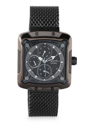 Alexandre Christie black Alexandre Christie Jam Tangan Wanita - Bronze Black Blue - Stainless Steel - 3030 BFBZBBA 0C78DACDADF773GS_1