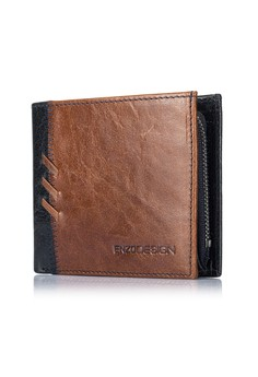 ENZODESIGN-新設計Buffalo leather 銀包