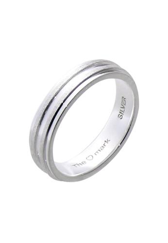 The LoveMark silver Matte Bands Ring for Men lr0014m TH516AC95UZWPH_1
