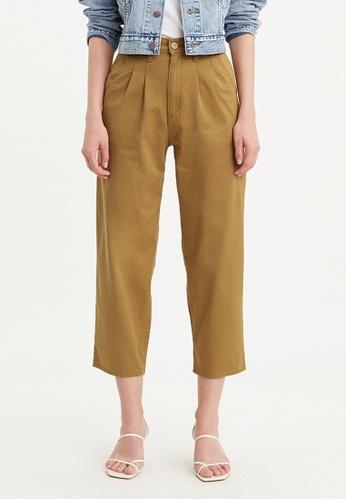 Levi's brown Levi's Pleated Balloon Pants Women 85791-0000 563D6AAB00408BGS_1