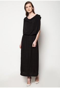 Bib Long Dress