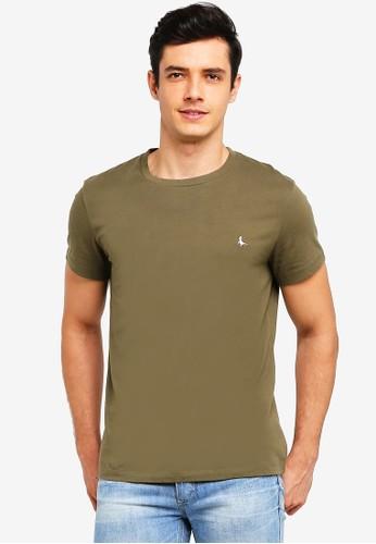Jack Wills green Sandleford T-Shirt 1D37EAAA7E9D09GS_1