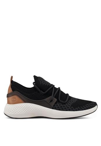 Timberland black Flyroam Go Knit Oxford Shoes 88EEBSHAFBD98FGS_1
