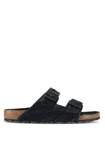 Birkenstock black Arizona Sandals F6E57SHBD3131CGS_1