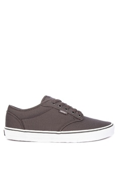 95b02356cc VANS grey Canvas Atwood Sneakers 2861ASHC1091BAGS 1