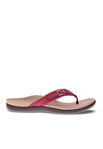 Vionic red Patty Toe Post Sandal EFC1DSHD73BB75GS_1