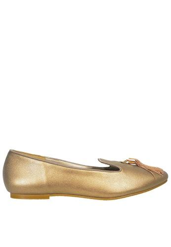 Jacque gold Nola Gold Heels JA262SH0T02JMY_1